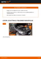 Hvordan forreste fjederben udskiftes på BMW E92