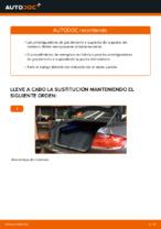 Cómo sustituir los amortiguadores de gas de la puerta del maletero en BMW E92
