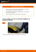 Cambio Pastilla de freno delanteras y traseras TOYOTA YARIS: tutorial en línea