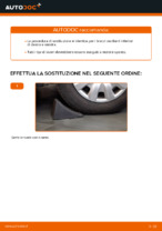 Sostituzione Braccio oscillante sospensione ruota TOYOTA YARIS: pdf gratuito