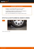 Come sostituire le molle della sospensione posteriore su Toyota Yaris P1