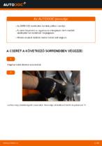 BMW E92 első stabilizátor kar csere