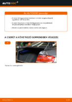 BMW E92 hátsó felfüggesztés lengéscsillapító csere