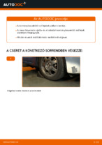 Online kézikönyv – saját kezű TOYOTA PRIUS Hatchback (NHW20_) Felfüggesztés csere
