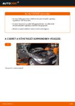 BMW E92 lengéscsillapító rugóstag csere