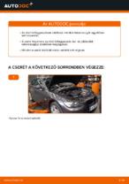 BMW E92 első felfüggesztő rugó csere