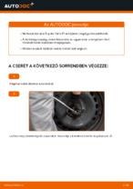 TOYOTA első bal jobb Kerékcsapágy készlet cseréje csináld-magad - online útmutató pdf