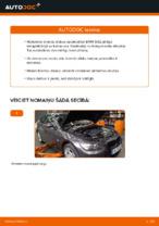 BMW 3 Coupe (E92) Bremžu diski uzstādīšana - soli-pa-solim pamācības