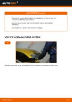 TOYOTA YARIS Bremžu uzlikas maiņa: bezmaksas pdf