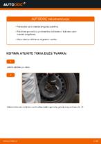 Nemokamos internetinės instrukcijos kaip atnaujinti Skersinės vairo trauklės galas TOYOTA YARIS (SCP1_, NLP1_, NCP1_)