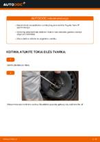 automobilių dalys TOYOTA Yaris Hatchback (_P1_) | PDF Instrukcija remonto