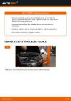 Stabdžių diskas keitimas: pdf instrukcijos HONDA ACCORD