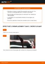 Changement Essuie-Glaces NISSAN LEAF : manuel d'atelier