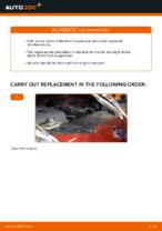 Changing Shock Absorber NISSAN LEAF: workshop manual