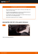 Kupefilter NISSAN ALTIMA   PDF instruktioner för utbyte