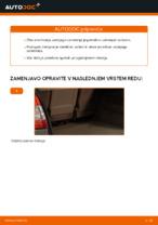 Kako zamenjati zadnji blažilnik vzmeti na RENAULT SCENIC II (JM)