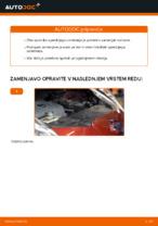 Navodila za vzdrževanje NISSAN pdf