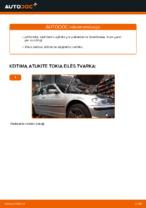 Automechanikų rekomendacijos BMW BMW 3 Touring (E46) 320i 2.2 Stabilizatoriaus įvorė keitimui