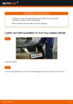 Changing Air Filter BMW 3 SERIES: workshop manual