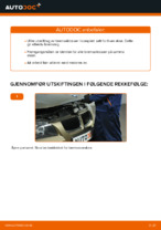 Skifte Bremseklosser BMW 3 SERIES: verkstedhåndbok