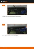 Jak wymienić szczotki wycieraczki przednie w BMW E90