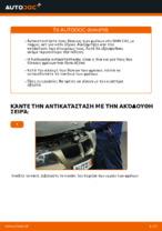 Πώς αντικαθιστούμε οπίσθιους δίσκους φρένων σε BMW E90
