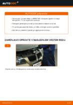 Kako zamenjati zavorne kolute na zadnjem delu pri BMW E90