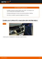 Vgraditi Nosilec amortizerja BMW 3 (E90) - priročniki po korakih