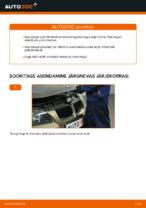 Kuidas vahetada tagumisi piduriklotse või pidurikettaid BMW E90