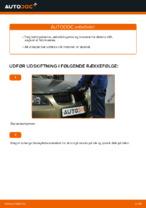 Hvordan man udskifter motorens luftfilter på BMW E90
