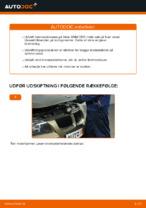 Hvordan bremseskiverne bag på BMW E90 udskiftes
