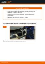 Hvordan man udskifter bremseklodser til skivebremer i bag på BMW E90