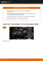 Step-by-step repair guide for Honda Accord VIII CU