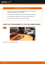 Step by step PDF-tutorial on FIAT BRAVA Wiper Blades replacement
