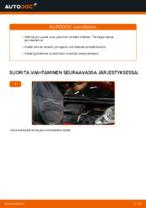 Kuinka vaihtaa ja säätää Sisäilmansuodatin PEUGEOT 107: pdf-opas