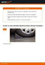 Kuinka vaihtaa etu-joustintuen laakeri BMW E90 malliin