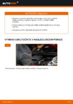 PDF návod na výmenu: Brzdové doštičky PEUGEOT zadné a predné