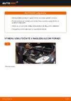 Ako vymeniť uloženie prednej vzpery zavesenia kolies na FIAT BRAVO II (198)