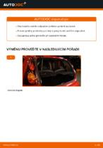 Jak vyměnit přední a zadní Tlumic perovani PEUGEOT udělej si sám - online návody pdf