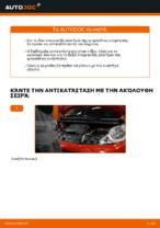 Οι συστάσεις του μηχανικού αυτοκινήτου για την αντικατάσταση PEUGEOT PEUGEOT 107 1.4 HDi Τακάκια Φρένων