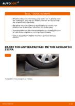 Πώς αντικαθιστούμε μπροστινή βάση γονάτου ανάρτησης σε BMW E90