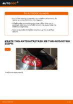 Τοποθέτησης Αμορτισέρ FIAT BRAVO II (198) - βήμα - βήμα εγχειρίδια