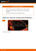 Avtomehanična priporočil za zamenjavo PEUGEOT PEUGEOT 107 1.4 HDi Vzmetenje