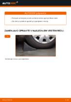 Kako zamenjati zgornjo roko zadnjega neodvisnega amortizerja na BMW E90