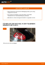 FIAT Stoßdämpfer Satz Gasdruck wechseln - Online-Handbuch PDF