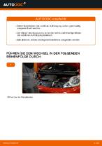 Hilfreiche Fahrzeug-Reparaturanweisung für hinten + vorne Fahrwerksfedern PEUGEOT