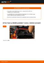 Comment remplacer le vérin à gaz du couvercle de coffre sur une Peugeot 107 PM PN