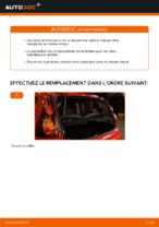 Notre guide PDF gratuit vous aidera à résoudre vos problèmes de PEUGEOT PEUGEOT 107 1.4 HDi Amortisseurs