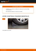 Hvordan skifter man og justere Bærearm bag og foran: gratis pdf guide