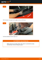 How to replace and adjust Windscreen wipers front and rear: free pdf guide